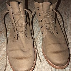 cdd6ea4e7b01a Sam Edelman Shoes - Sam Edelman Mare Lace Up Boots in Putty